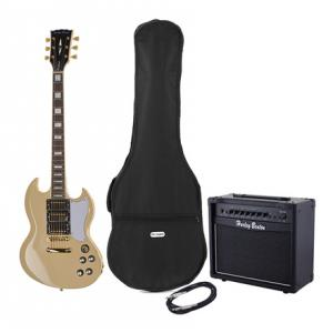 """Take the """"IS IT GOOD FOR ME"""" test for """"Harley Benton DC-600 VI Vintage Serie Bundle"""", read the reviews and join the community!"""