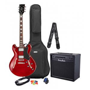 Is Harley Benton HB-35Plus Cherry Bundle 1 a good match for you?