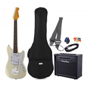 Is Harley Benton MS-60 Vintage White Bundle 1 a good match for you?