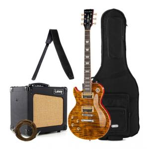 Is Harley Benton SC-550LH Paradise Amber Bundle a good match for you?