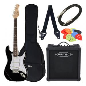 Is Harley Benton ST-20 BK Starter Bundle 6 a good match for you?