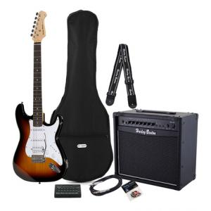 Is Harley Benton ST-20HSS SB Standard Bundle a good match for you?