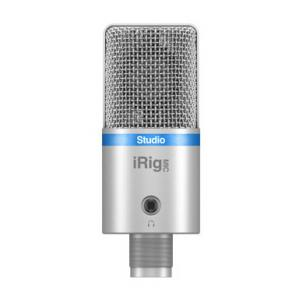 Is IK Multimedia iRig Mic Studio silver the right music gear for you? Find out!