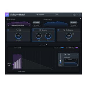 "Take the ""IS IT GOOD FOR ME"" test for ""Izotope Dialogue Match EDU"", read the reviews and join the community!"