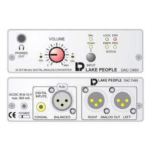 Is Lake People DAC C460 D/A Converter a good match for you?