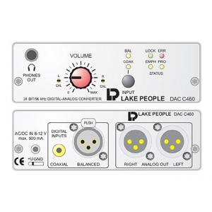 Is Lake People DAC C460H D/A Converter w. HP a good match for you?