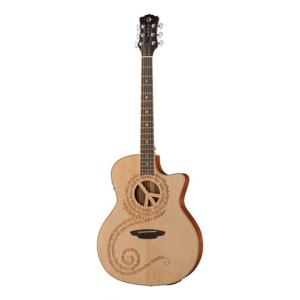 """Take the """"IS IT GOOD FOR ME"""" test for """"Luna Guitars Oracle Peace B-Stock"""", read the reviews and join the community!"""