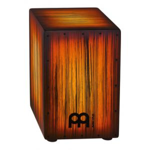 Is Meinl HCAJ2AMTS Tiger Striped Cajon the right music gear for you? Find out!