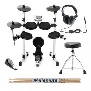 Is Millenium MPS-150 E-Drum Set Bundle a good match for you?