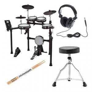 Is Millenium MPS-450 E-Drum Set Bundle a good match for you?