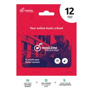 Is music2me Guitar Subscription 12 Mon. a good match for you?