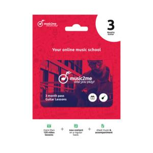 Is music2me Guitar Subscription 3 Months a good match for you?
