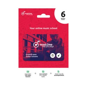 Is music2me Guitar Subscription 6 Months a good match for you?
