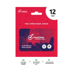 Is music2me Piano Subscription 12 Months a good match for you?