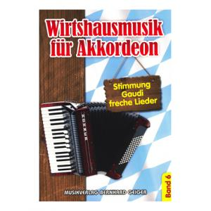 """Take the """"IS IT GOOD FOR ME"""" test for """"Musikverlag Geiger Wirtshausmusik Akkordeon 6"""", read the reviews and join the community!"""