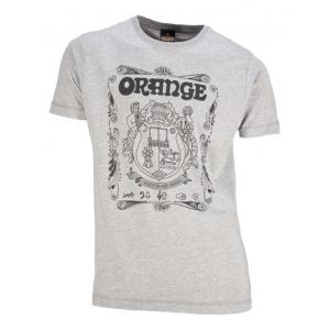 Is Orange T-Shirt Crest Grey XL a good match for you?