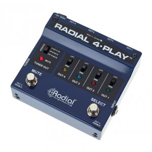"Take the ""IS IT GOOD FOR ME"" test for ""Radial Engineering 4Play"", read the reviews and join the community!"