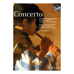 """Take the """"IS IT GOOD FOR ME"""" test for """"Schott Concerto Recorder Piano"""", read the reviews and join the community!"""
