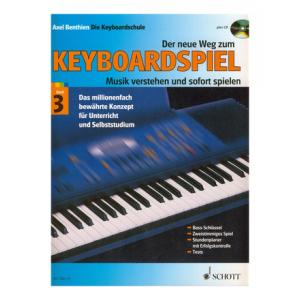 "Take the ""IS IT GOOD FOR ME"" test for ""Schott Der Neue Weg Zum Keyboard 3+CD"", read the reviews and join the community!"