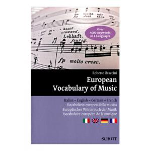 Is Schott European Vocabulary Of Music a good match for you?