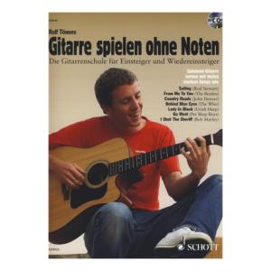 """Take the """"IS IT GOOD FOR ME"""" test for """"Schott Gitarre spielen ohne Noten"""", read the reviews and join the community!"""
