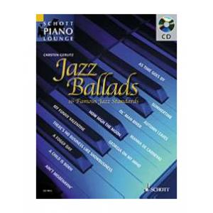 """Take the """"IS IT GOOD FOR ME"""" test for """"Schott Jazz Ballads for Piano"""", read the reviews and join the community!"""