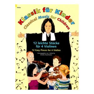 Is Schott Klassik for Kinder 4 Violinen a good match for you?