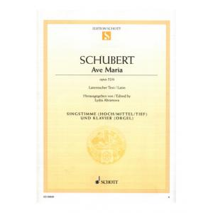"Take the ""IS IT GOOD FOR ME"" test for ""Schott Schubert Ave Maria Vocal"", read the reviews and join the community!"