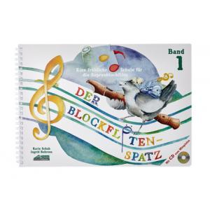 Is Schuh Verlag Der Blockflötenspatz Bd.1 CD a good match for you?