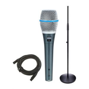 Is Shure Beta 87A Bundle a good match for you?