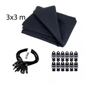 Is Stairville Euro Molton Set Black 3x3m a good match for you?