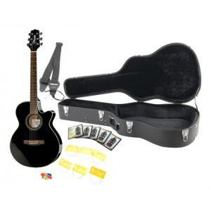"""Take the """"IS IT GOOD FOR ME"""" test for """"Takamine EG260C-BK Bundle"""", read the reviews and join the community!"""