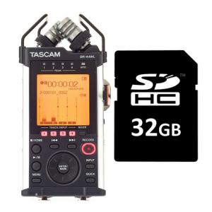 Is Tascam DR-44WL Card Bundle a good match for you?