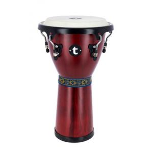 "Take the ""IS IT GOOD FOR ME"" test for ""Thomann 10' Djembe Satin Red"", read the reviews and join the community!"