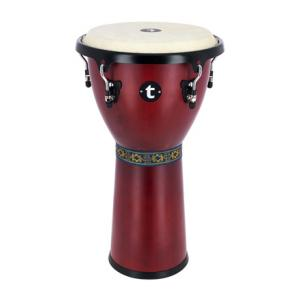 "Take the ""IS IT GOOD FOR ME"" test for ""Thomann 12' Djembe Satin Red"", read the reviews and join the community!"