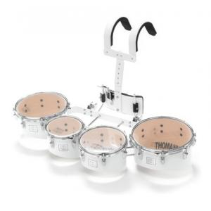 Is Thomann QT04 W Marching Quad Tom Set the right music gear for you? Find out!