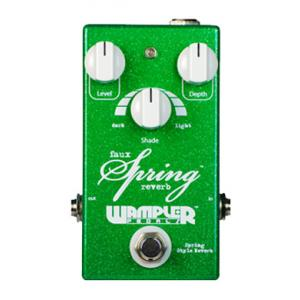 """Take the """"IS IT GOOD FOR ME"""" test for """"Wampler Faux Spring Reverb"""", read the reviews and join the community!"""