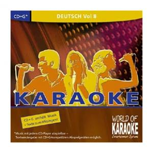 """Take the """"IS IT GOOD FOR ME"""" test for """"World of Karaoke Deutsche Songs Vol. 8"""", read the reviews and join the community!"""